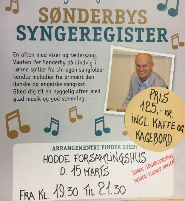 Sønderbys sangregister